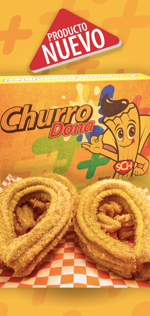 MásChurro México Productos ChurroDona